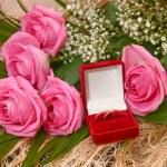 Wedding rings — Stock Photo #9686036