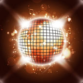 Disco Ball Calls You All — Stock Photo