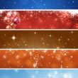 Stock Photo: Abstract Xmas Banners