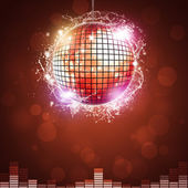 Disco Night Ball — Stock Photo