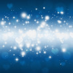 Lovely Glitter Lights — Stock Photo