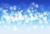 Blue Sky Blurry Lights — Stock Photo