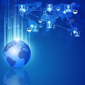 Network Communications — Stock Photo