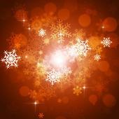 Xmas Snow Background — Stock Photo