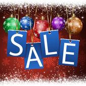 Christmas Sale Notice — Stock Photo