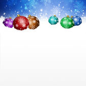 Magic Muliticolor Balls and White Spot — Stock Photo