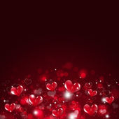 Holiday Valentine Red Background — Stock Photo
