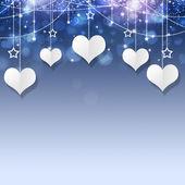 Valentine wakacje prezent karty — Zdjęcie stockowe