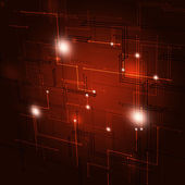 Abstract Geometric Red Background — Stock Photo