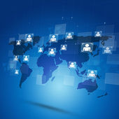 Globally Connected — Stock Photo