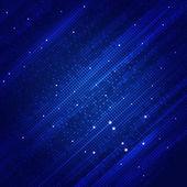 Abstrakte quadratische Formen blauer Hintergrund — Stockfoto
