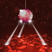 Disco Party Music Ball — Stok fotoğraf