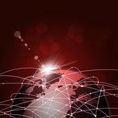 Conexiones de internet mundial — Foto de Stock