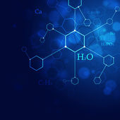 Science Blue Background — Stock Photo