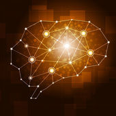 Brain Network — Zdjęcie stockowe
