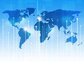 Communication Technology Background — Stock Photo