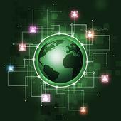 Global Communication Background — Stock Photo