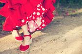 Flamenko dans yarışması ve sevillanas — Stok fotoğraf