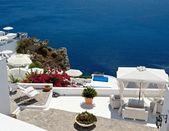 Cozy terrace — Stock Photo