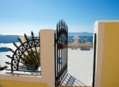 Entrance to the terrace — Stock Photo
