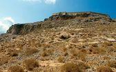 Gramvousa fort. Panorama — Stock Photo