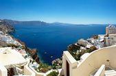 Santorini Island. Panorama. — Stock Photo