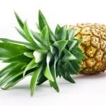 Fresh pineapple isolated over white background — Stock Photo #34496243