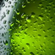 Water drops texture on the bottle of beer. Abstract background w — Stock Photo #34501413
