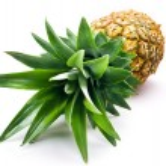 Fresh pineapple isolated over white background — Stock Photo #34517341