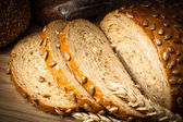 Bread with sunflower seeds — Stock Photo