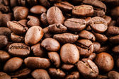 Gebrande koffiebonen achtergrond — Stockfoto