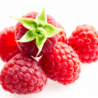 Raspberries. Objects on white background — Stock Photo