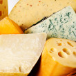 Different cheeses varieties — Stock Photo