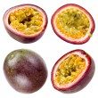 Passion fruit isolated on white background. Collection — Stock Photo #39577613