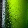 Water drops texture on the bottle of beer. Abstract background w — Stock Photo #40238669