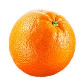 Orange fruit isolated on white background — Stock Photo