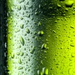 Water drops texture on the bottle of beer. Abstract background — Stock Photo
