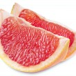 Stock Photo: Grapefruit slice with clipping path