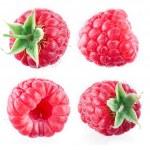 Raspberry isolated on white — Stock Photo #40864177