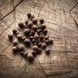 Fragrant black pepper, allspice — Stock Photo #40864879