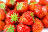 Strawberry - full frame. Fruit background — Stock Photo