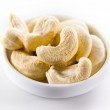 Cashew. Heap of nuts isolated on white background — Stock Photo #44188975