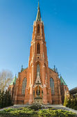 Church of the Assumption of the Blessed Virgin Mary in Bielawa — Stock Photo
