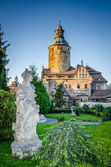 Czocha castle in Lesna - Poland — Stock Photo