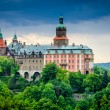 Książ Castle in Poland — Stock Photo