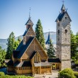 Постер, плакат: Karpacz Norwegian temple Wang