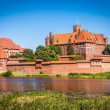 Stock Photo: Teutonic castle in Malbork, Poland