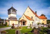 Church of Sts. Bartholomew Czermna Kudowa Zdroj — Stock Photo