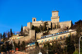 San Marino castle — Stock Photo