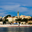 Belgrade marina — Stock Photo